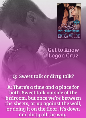 enjoy reading a story with a hot dirty talking hero in the bedroom